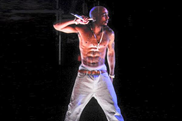 Tupac's Hologram Announces 2016 Presidential Bid