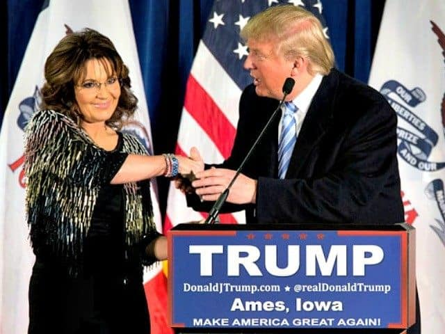 Intellectual Elite Sarah Palin Saves Trump's Campaign