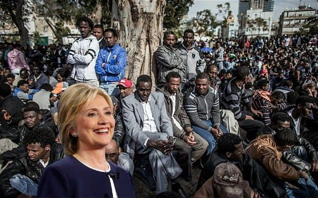 Hillary Adopts 20,000 Voting Age Refugees To Beat Bernie