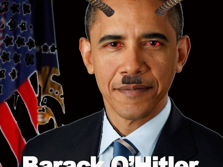 A Voice of Rationality! Creator of 'Barack O'Hitler' Meme Calls for Peaceful Transfer of Power