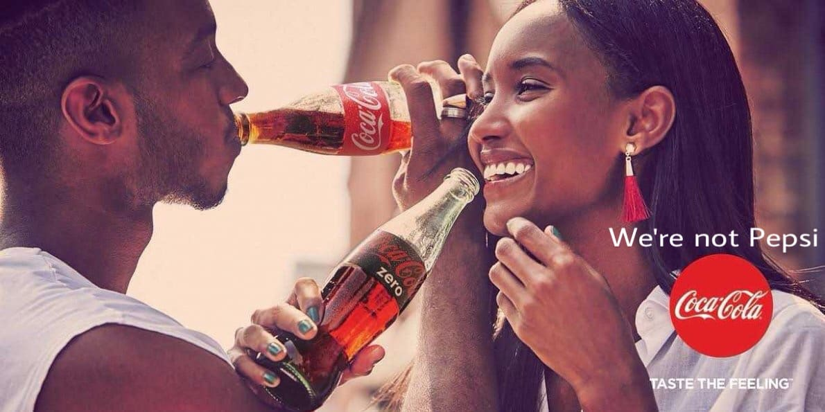 Coca-Cola Sales Skyrocket in the Midst of Its 'Not Being Pepsi' Campaign
