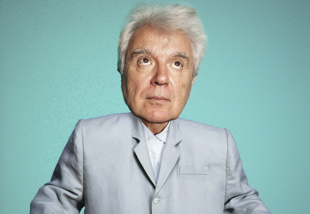 "David Byrne Finally Caves on Talking Heads Reunion: ""Only If I Can Have A Giant Head This Time"""
