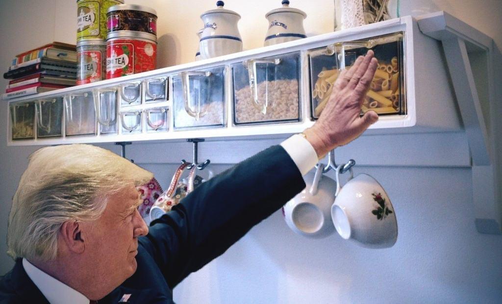 Trump's Phone Kept on a High Shelf During James Comey's Testimony