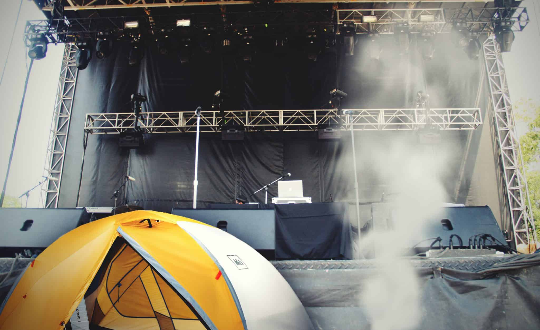 Family Plans Camping Trip To Front Row Of Pitchfork Stage