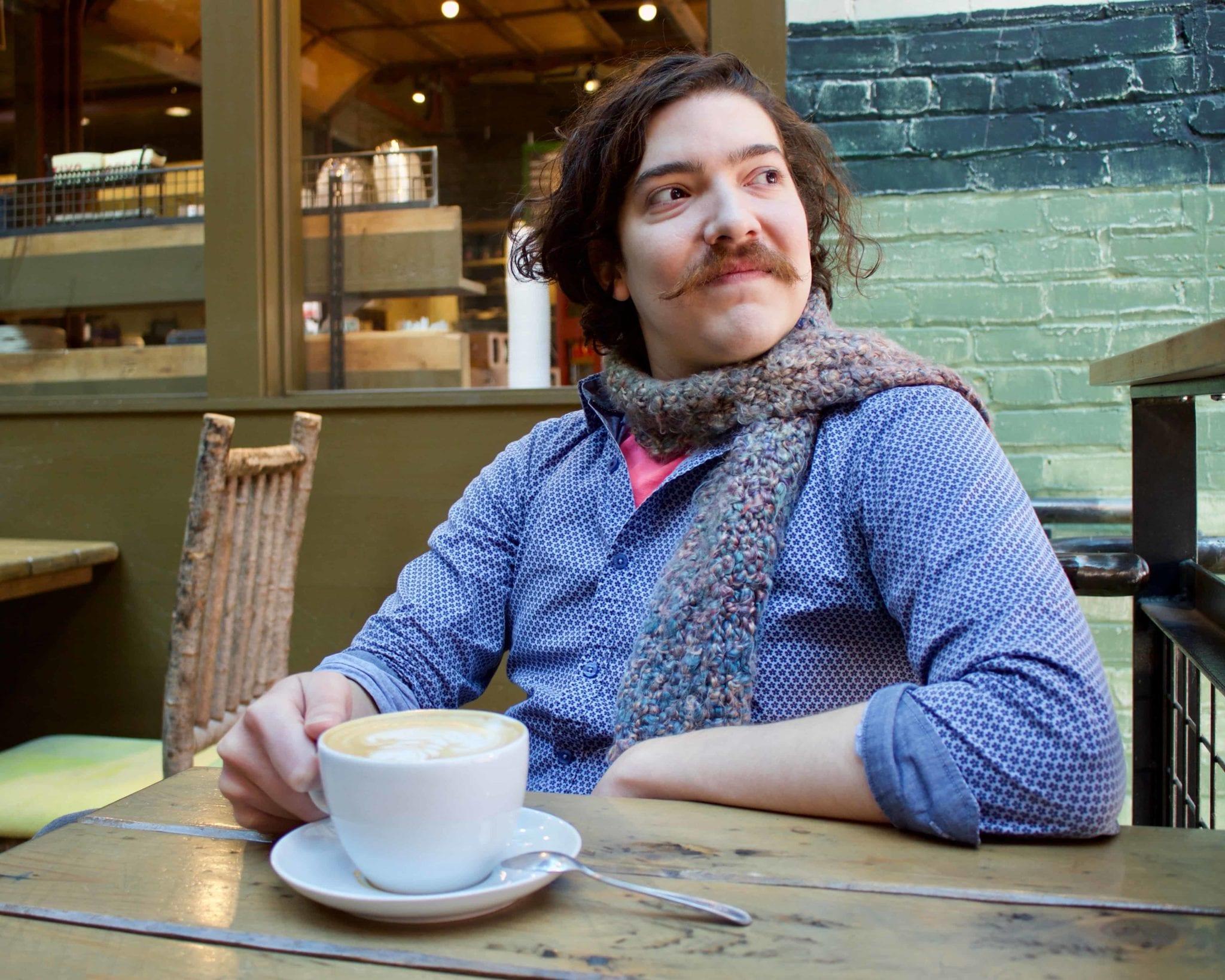 Minimalist Hipster Buys $6 Coffee