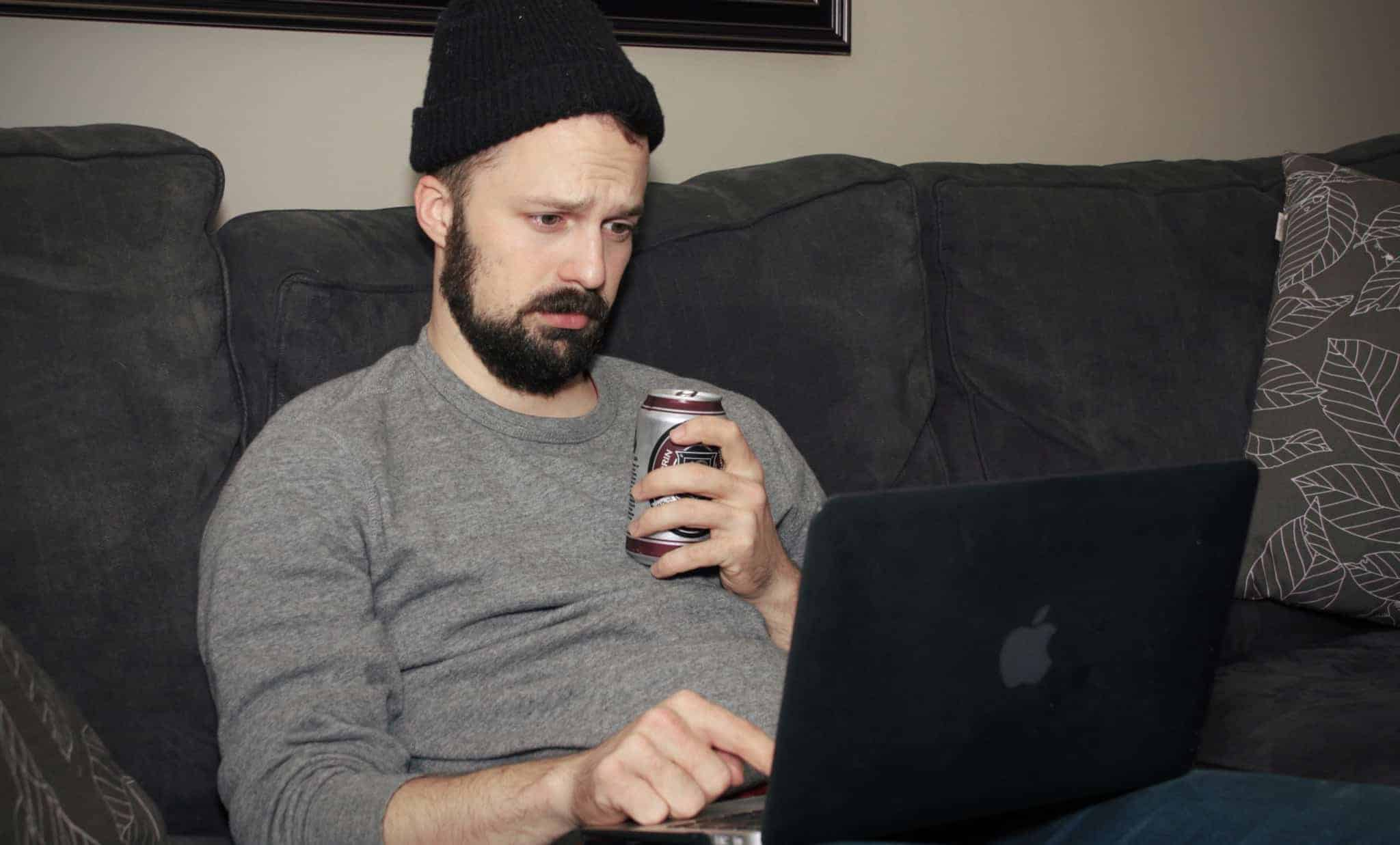 "Drunk Man ""Likes"" All Of Crush's Most Recent Facebook Posts"