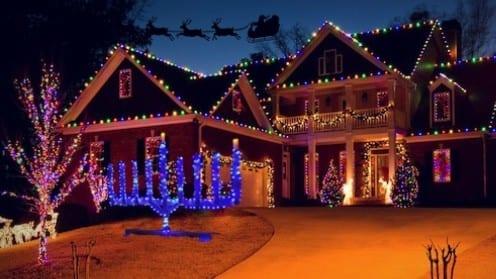 Santa Forgets All Non-Christian Households Again