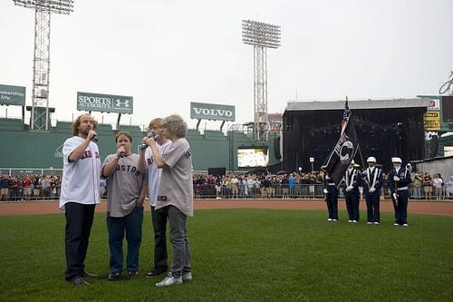 Phish Plays 27 Minute National Anthem At Boston Red Sox Game