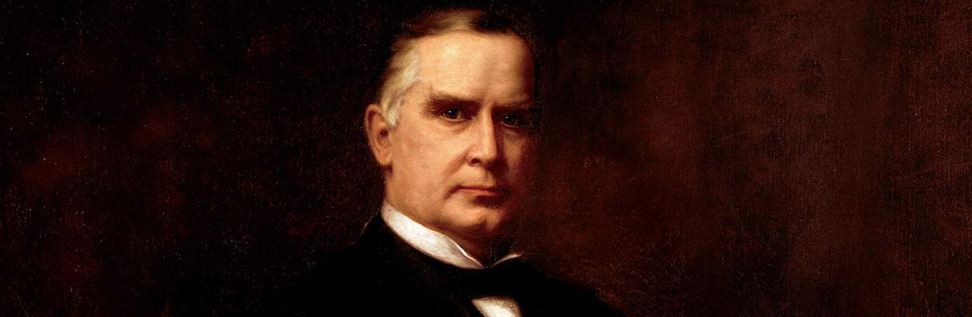 Presidential Portrait Restorer Loses Soul Staring Into Eyes Of William McKinley