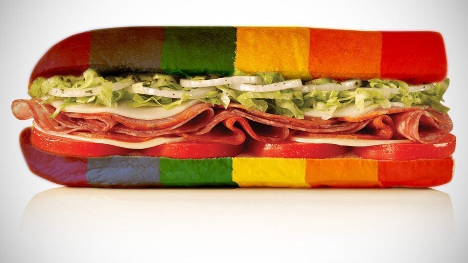 Jimmy John's Reveals Gay Sandwich For Next Year's Pride