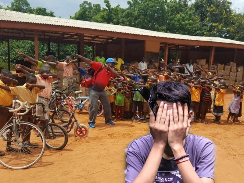 Youths On Mission Trip Help African Village, Forget To Plug Christ