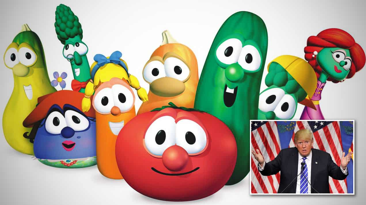 President Clearly Never Seen A Single Episode Of VeggieTales
