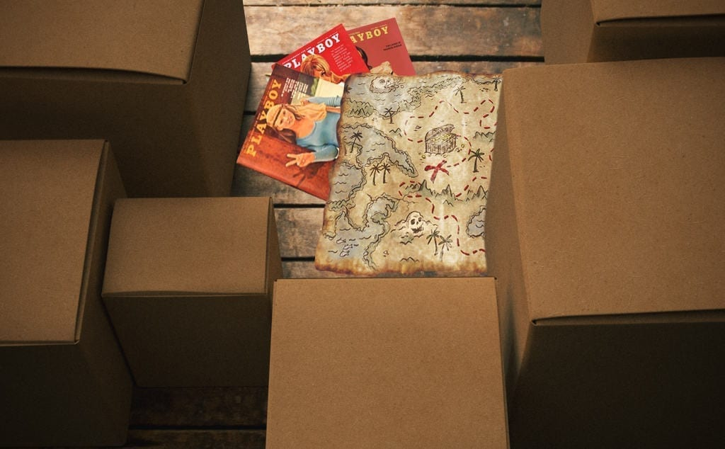 Neighborhood Kids Find Treasure Map In Attic, Completely Miss Stack Of Porn