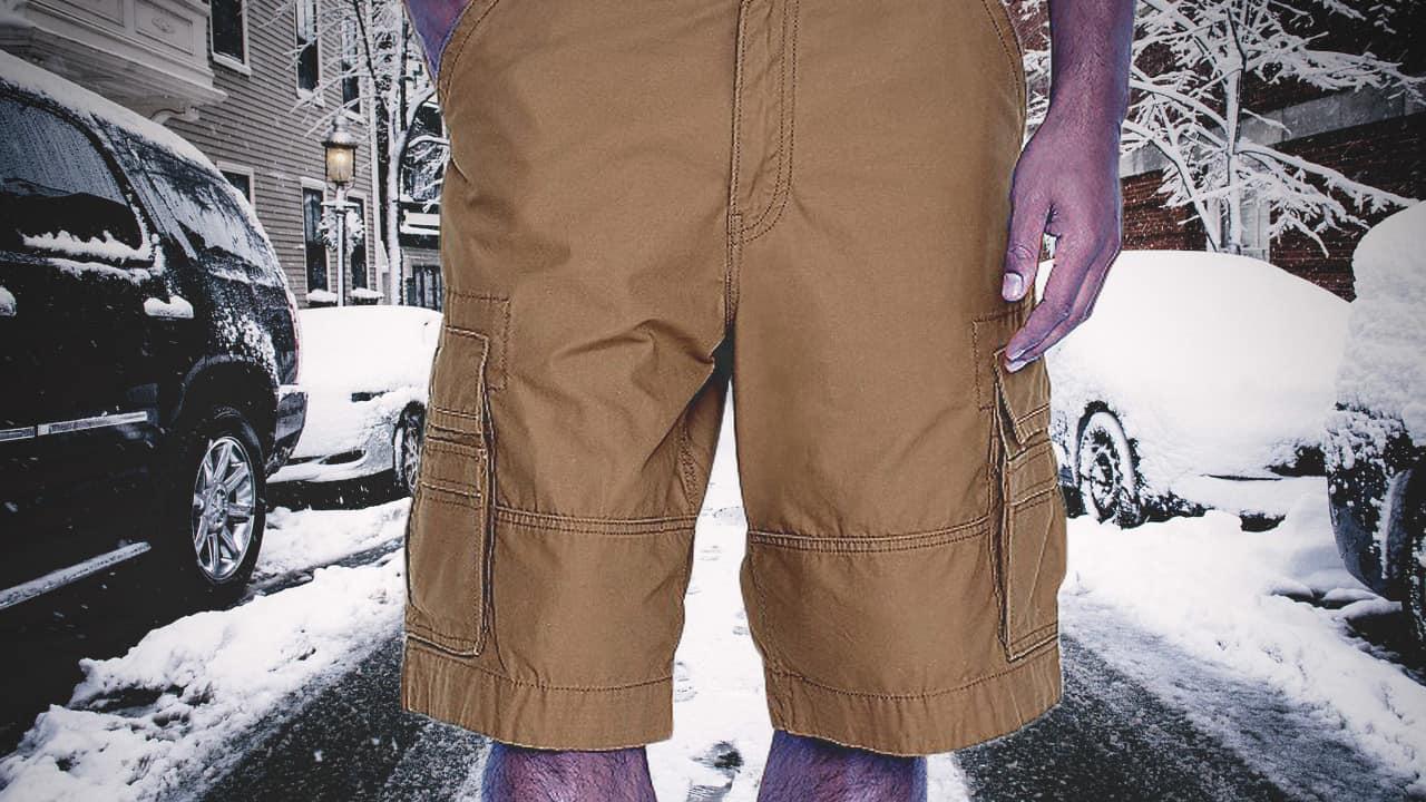 Man In Urban Pipeline MaxFlex Cargo Shorts Finally Dies Of Exposure