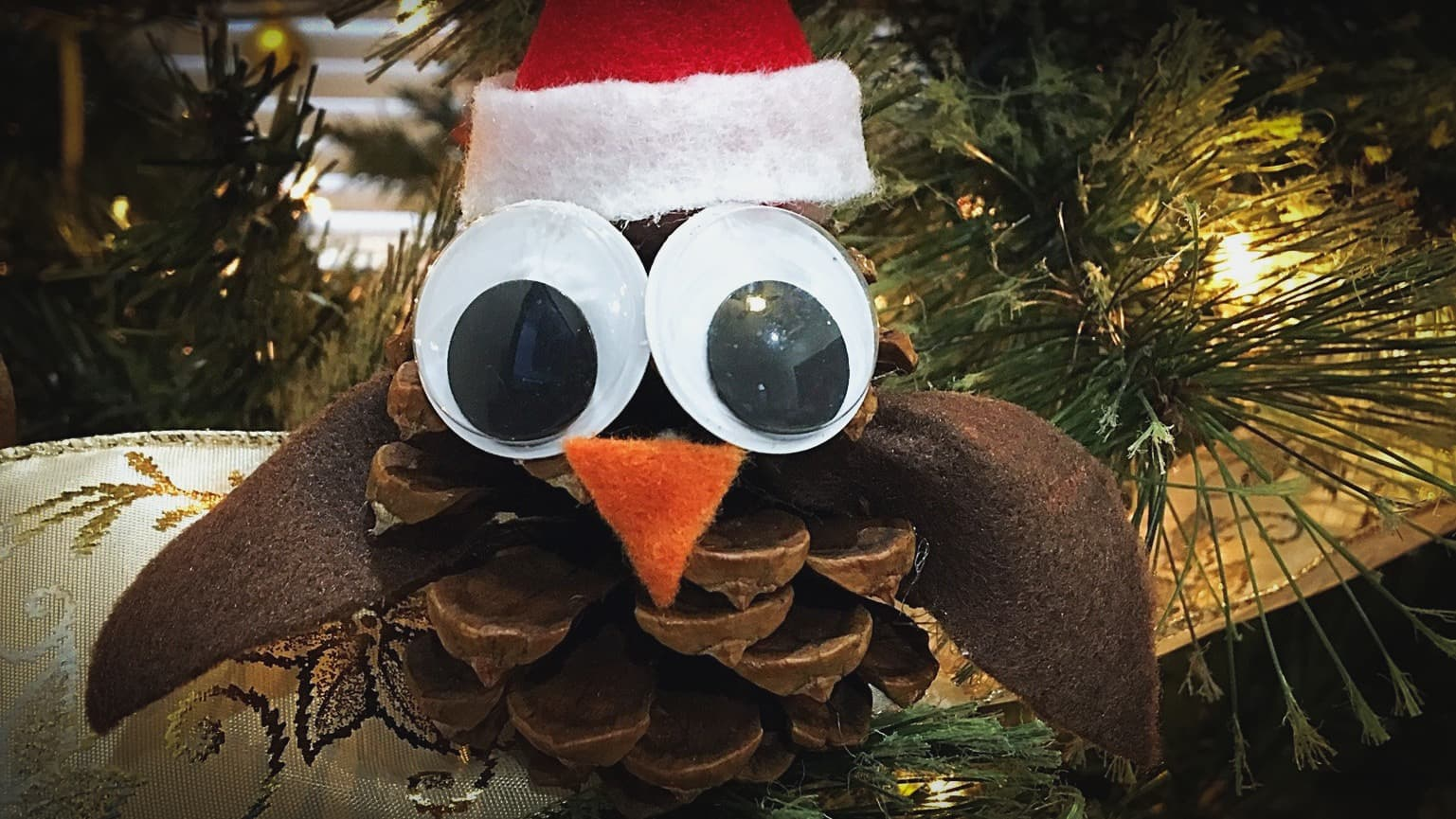 Local Boy's Handmade Ornament Makes Tree Look Like Shit