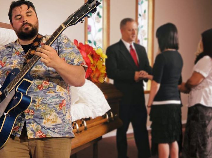Local Dude Turns Funeral Into Crunchy Jam Sesh