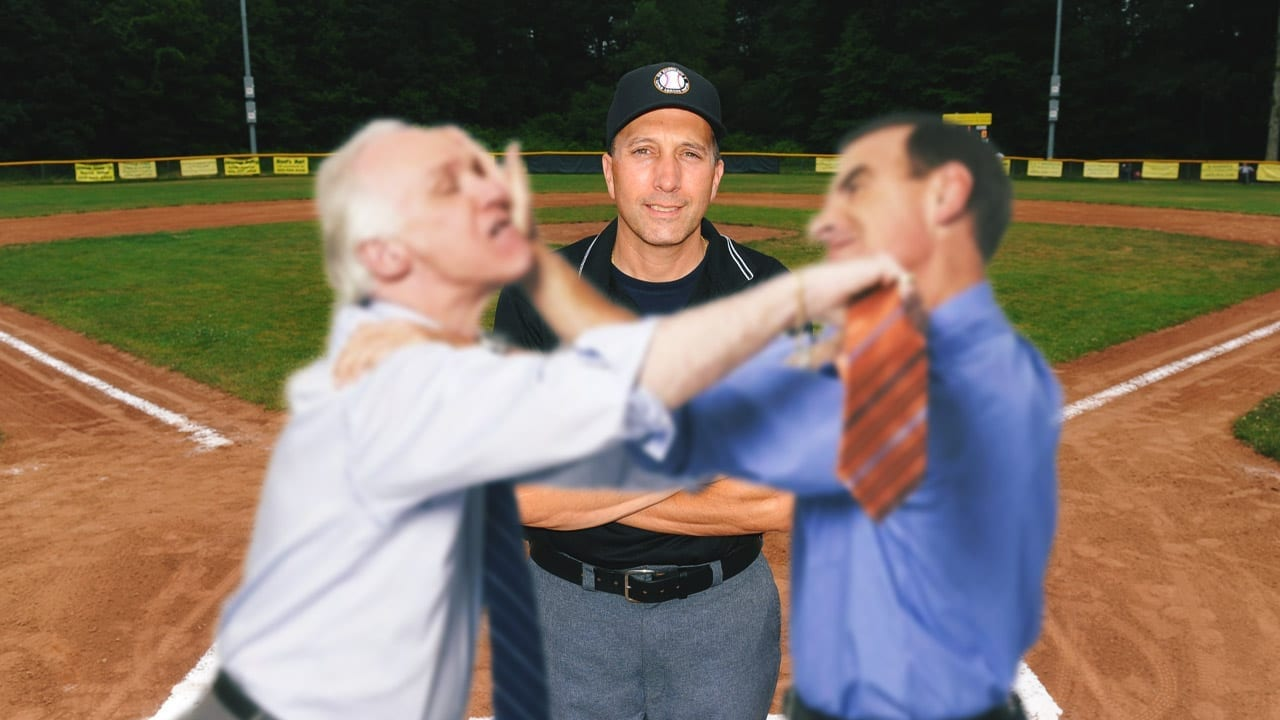 Little League Ump Finds New Passion Reffing Drunken Dad Fights