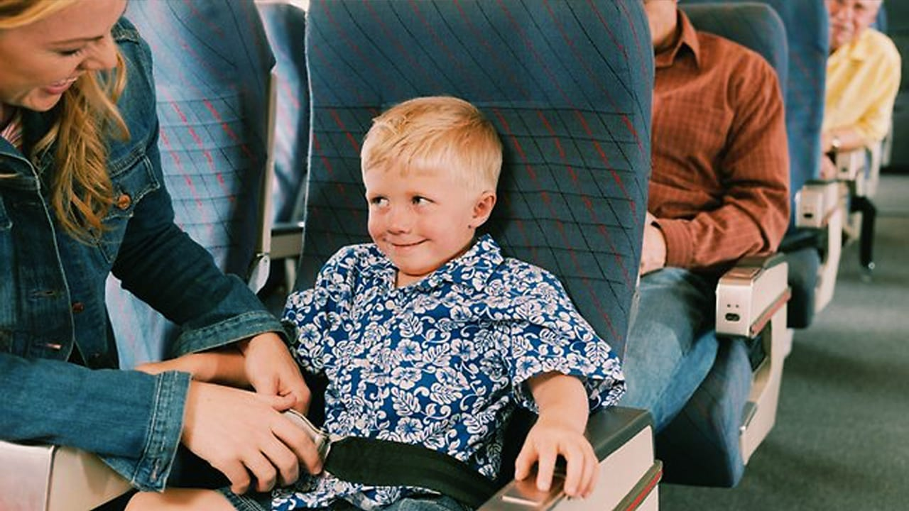 Death Obsessed Toddler Treating Plane Turbulence Like Roller Coaster