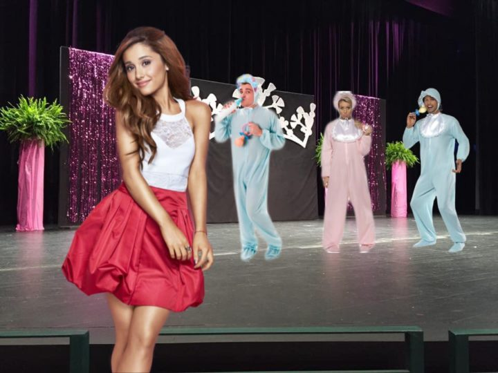 Ariana Grande Hosts First Adult Baby Beauty Pageant