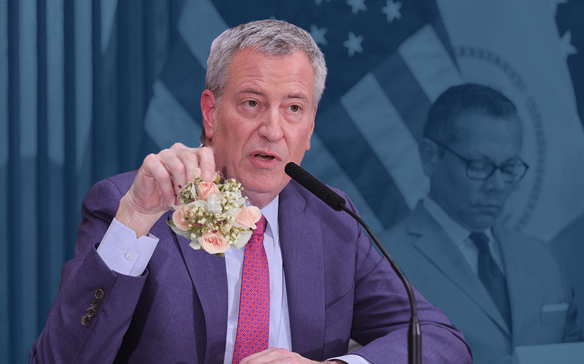 Exclusive: De Blasio Extends NYC School Shutdown Because He Still Doesn't Have A Date To The Prom