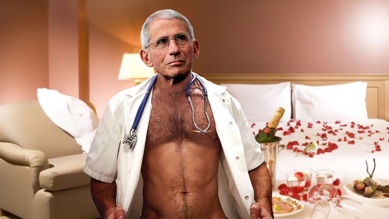 I Wanted To Fuck Anthony Fauci Before It Was Cool