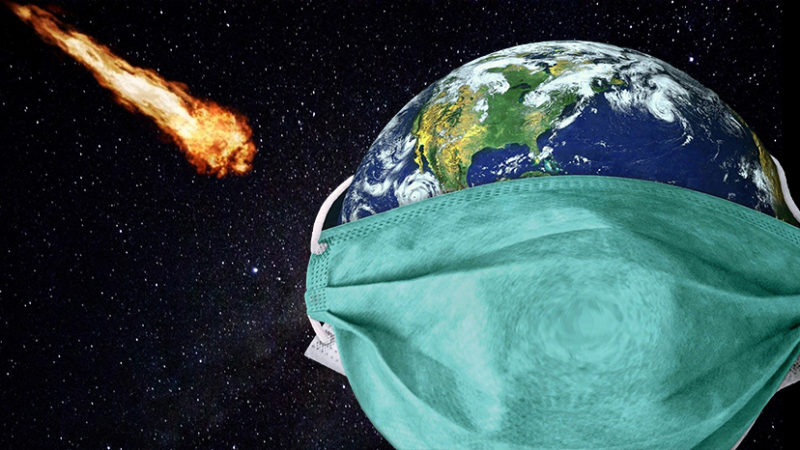 Asteroid Readjusts Trajectory From 6FT From Earth To 12FT Per CDC Recommendation