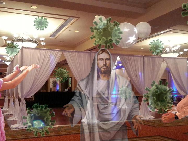 Catholic School Dance Held Using CDC Guidelines, Room Kept For Jesus And Coronavirus