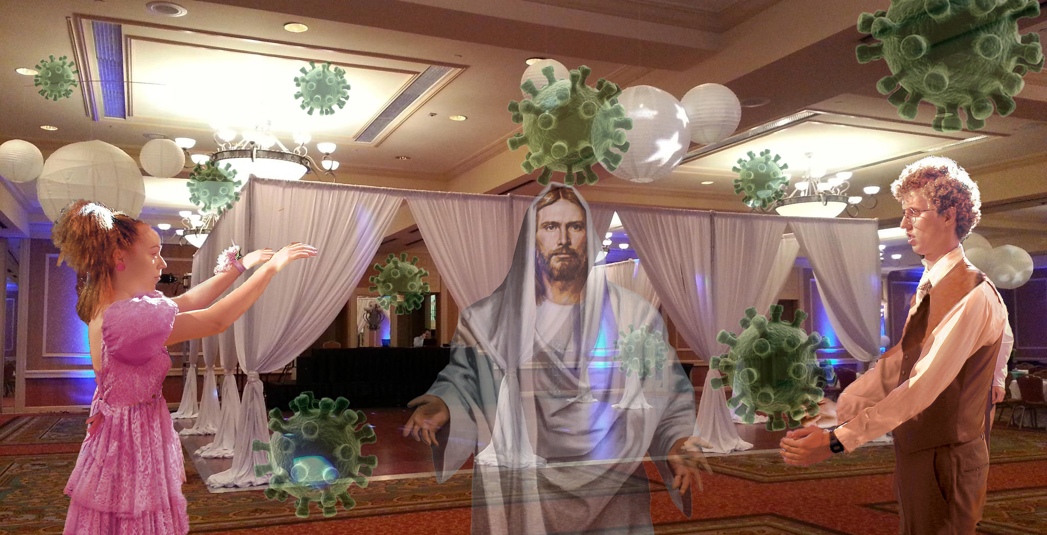 Catholic School Dance Held Using CDC Guidelines, Room Kept For Jesus And Coronavirus