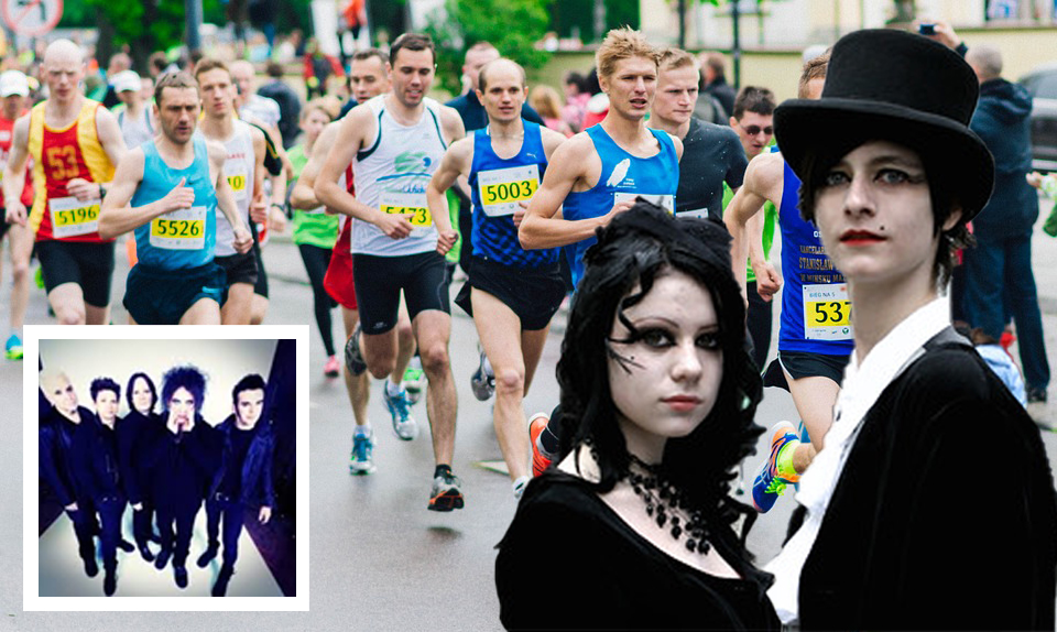 Activist Goths Hold Race For The Cure