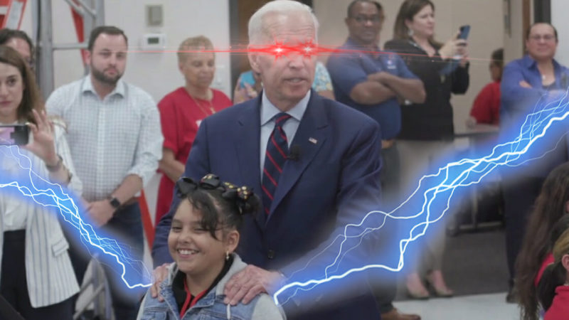 Joe Biden Siphons Energy From Women's Shoulders To Win Primaries