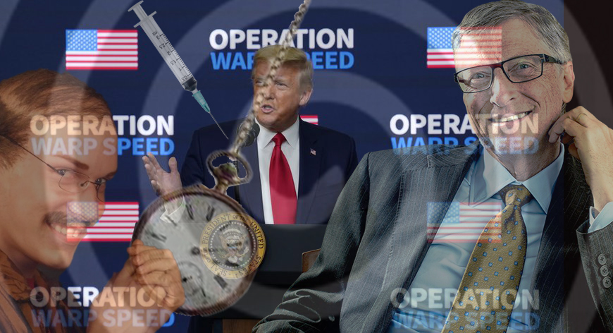 Final Pro-Trump Hold Outs Bail After He Takes Credit For Worse-Than-Death Mind Control Bill Gates Pedophile Poison Shot