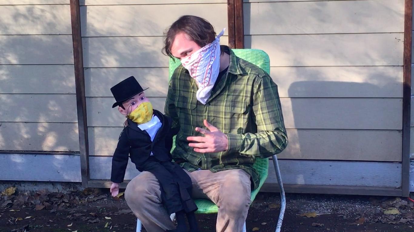 Ventriloquist In The Age Of Covid