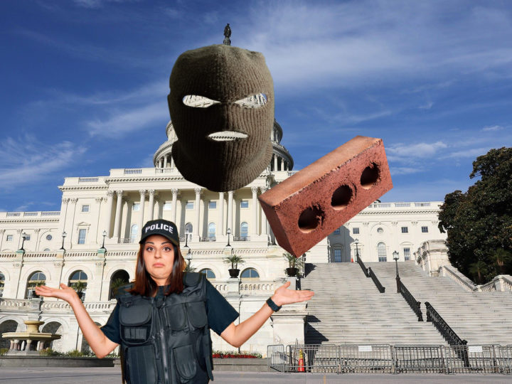 DC Police Assert Capitol Building Attacked First