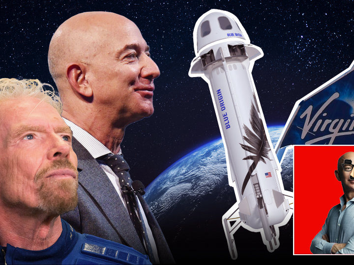 Opinion: Time And Energy Spent Chastising Billionaires For Space Travel Could Also Be Spent Solving World Hunger, Hypocrites