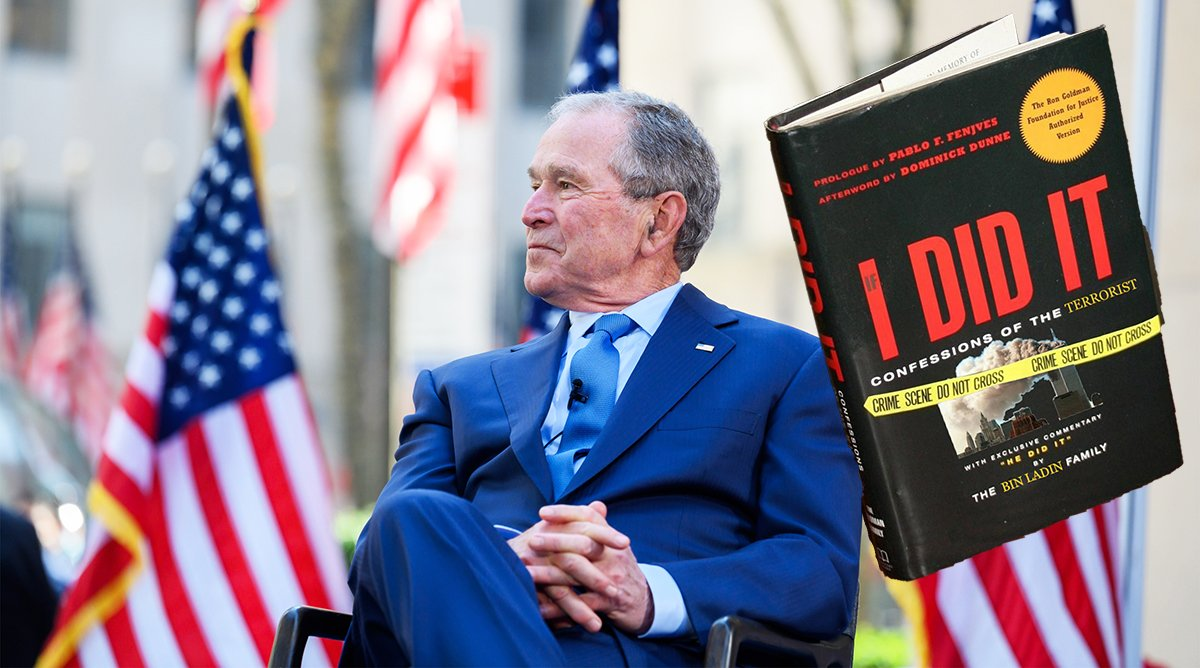 George W. Bush Publishes 'If I Did It' Book About 9/11
