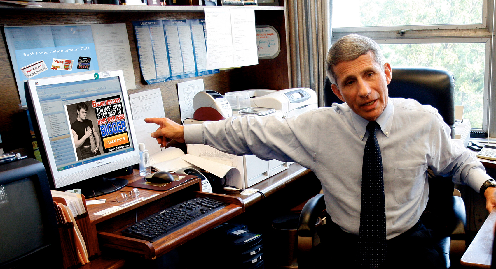 Fauci Leaked Emails Reveal He Replied To Every Miracle Penis Growth Pill Spam Message