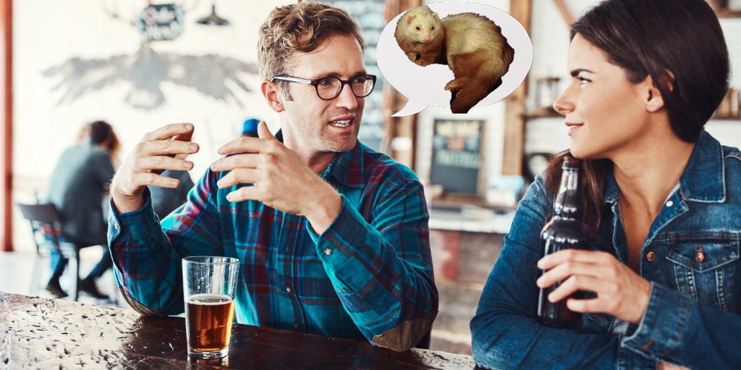 'I'm Really More Of A Ferret Person,' Says Man Unintentionally Ending Date