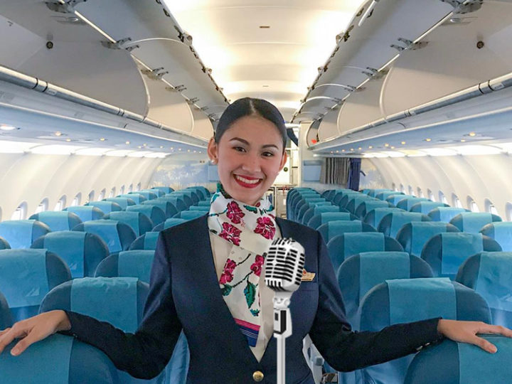 Flight Attendant's 'Tight 5' Has 12 Too Many Plane Crash Jokes