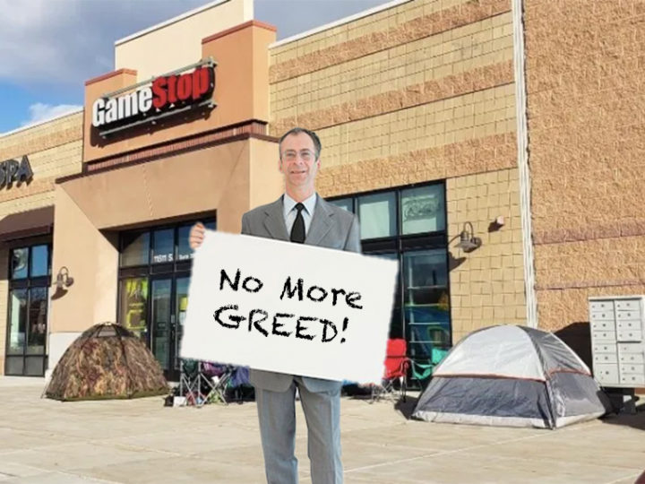 Occupy GameStop: Hedge Fund Traders Fight Back Against Injustice In Stock Market