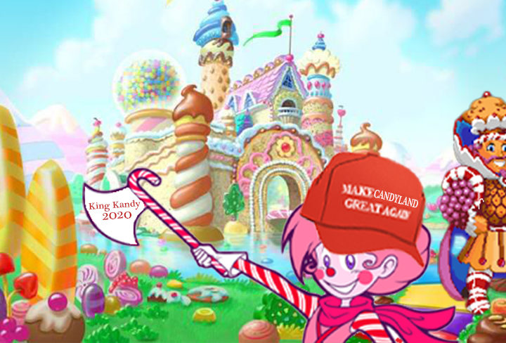 Candyland's King Kandy Refuses To Commit To Peaceful Transition Of Power