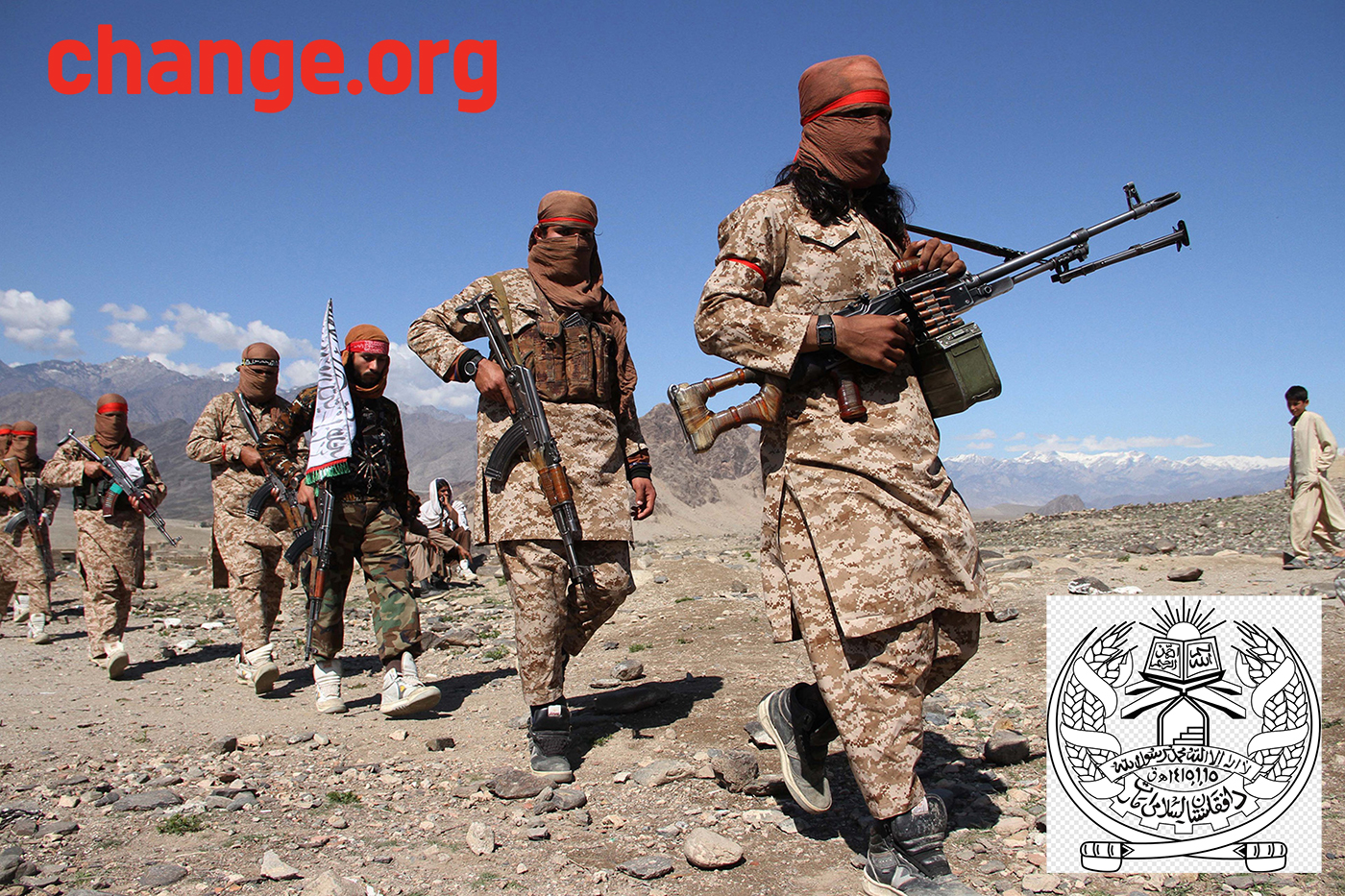 Taliban Cuts The Shit And Become Cool Guys After Change.org Petition Reaches 1 Million Signatures