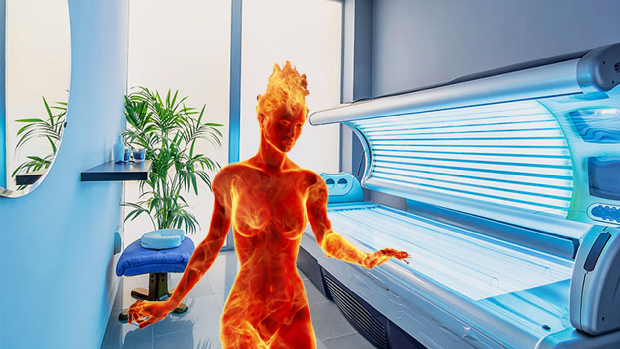 Tanning Bed Accident Grants Suburban Mom Powers Of The Sun